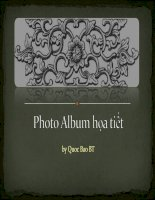 Photo Album hoa tiet
