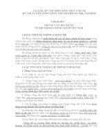 tài liệu ôn tập môn kiến thức chung kỳ thi tuyển công chức thành phố hà nội, năm 2014