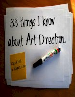 33 things You Need to Know about Art Direction
