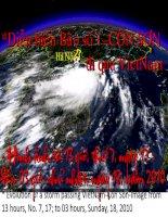 Mời thầy cô xem Diễn biến bão số 1–CÔN SƠN đi qua VietNam -Hình ảnh từ 13 giờ, thứ 7, ngày 17 -đến 03 giờ,ngày18,2010