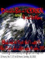 Diễn biến bão số 1 CÔN SƠN đi qua VietNam -Hình ảnh từ 13 giờ, thứ 7, ngày 17 -đến 03 giờ ngày 18 , 2010