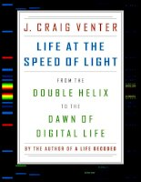 Life at the speed of light   craig venter