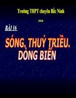 Bai 16. Song. Thuy trieu. Dong bien