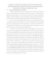 TỔNG QUAN NGHIÊN cứu đề tài GIẢI PHÁP THỊ TRƯỜNG NHẰM PHTAS TRIỂN XUẤT KHẨU mặt HÀNG NÔNG sản tại CÔNG TY CP tập đoàn đại CHÂU