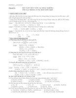 9 chuyên đề ôn thi học sinh giỏi môn hoá