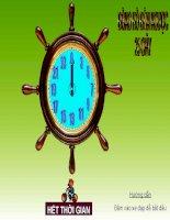 Đồng hồ đếm ngược dùng trong hội thi
