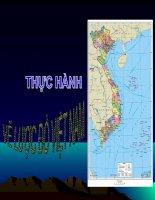 Cách vẽ lược đồ Việt Nam