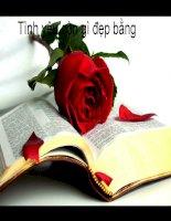 Điều kỳ diệu của tình yêu!!!