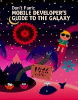Do not Panic: Mobile Developers Guide To The Galaxy