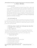 skkn Phương pháp  tổ chức dạy các dạng bài tập Luyện từ và câu cho học sinh lớp 4