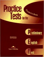 practice test for the student''''s book