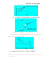 Giáo trình phân tích khả năng phát triển thiết kế theo đường cong chuyển tiếp của lực ly tâm p8 pptx