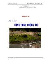 Giáo trình phân tích khả năng định hướng tổ chức thi công xây dựng đường ôtô theo phương pháp dây chuyền p7 ppt