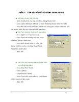 Tài liệu hướng dẫn sử dụng Arcgis cơ bản - Phần 2 pptx