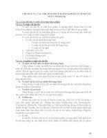 BÀI GIẢNG MÔN HỌC VI SINH THỰC PHẨM - Chương 6 doc
