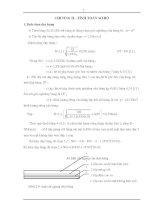 Tính toán máy vận chuyển liên tục - Chương 2 ppt