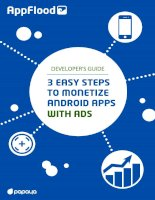 3 Easy Steps To Monetize Android Apps With Ads