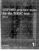 Oxford Practice Tests for the TOEIC Test Part 1 pps