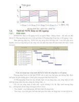 Giáo trình phân tích khả năng định hướng tổ chức thi công xây dựng đường ôtô theo phương pháp dây chuyền p5 pdf