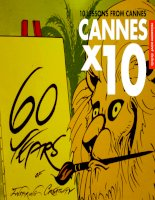 10 Lessons from The 2013 Cannes Festival: Short guide