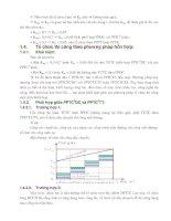 Giáo trình phân tích khả năng định hướng tổ chức thi công xây dựng đường ôtô theo phương pháp dây chuyền p4 ppt