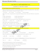 bài tập vật lý 10 nâng cao về chất khí