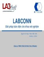 labconn phần mềm kết nối máy xét nghiệm