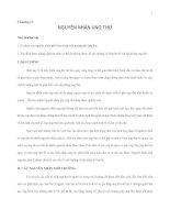 Giáo trình đại cương về Ung thư - Chương 4 potx