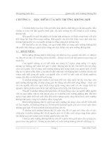Quan trắc môi trường không khí - Chương 1 pptx
