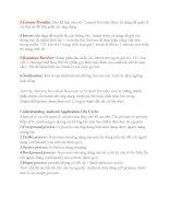 Giáo trình phân tích khả năng ứng dụng các lớp giao diện boolean trong Androi để tạo một View riêng 2 pdf