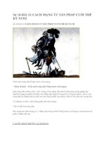 Sử 10-BÀI 31:CÁCH MẠNG TƯ SẢN PHÁP CUỐI THẾ KỶ XVIII ppsx