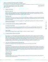 công ty cổ phần xuất nhập khẩu an giang angimex thuyết minh báo cáo tài chính quý 4 năm 2012