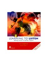learning to listen students book 3
