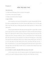 Giáo trình đại cương về Điệu trị Ung thư - Chương 11 pot