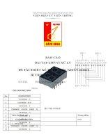 Hệ thống điều khiển thiết bị trong nhà group13