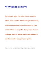 Why people move pps