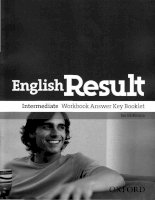 english result intermediate workbook answer key booklet