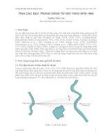 Hướng dẫn thực hành Kỹ thuật Bờ biển - Phần 6 ppt