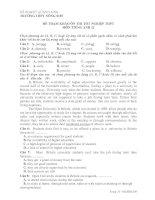 ĐỀ THAM KHẢO ÔN THI TỐT NGHIỆP THPT MÔN TIẾNG ANH 12 - TRƯỜNG THPT NÔNG SƠN pot