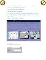 Giáo trình tổng hợp những bộ phần mềm giúp bảo mật Window Xp an toàn và hiệu quả phần 9 ppt