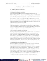 Điện tử cơ bản - Chương 1 ppsx