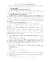 Hướng dẫn thí nghiệm vật liệu xây dựng - Bài 4 pot