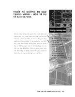Phát triển AutoCAD bằng ActiveX & VBA - Chương 13 pps