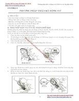 Giáo trình thực tập động cơ I - Chương 4 doc