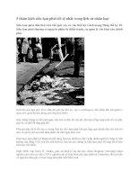 5 thảm kịch siêu lạm phát tồi tệ nhất trong lịch sử nhân loại ppt
