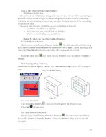 Hướng dẫn sử dụng solidwork 2004 - Phần 2 xây dựng mô hình mặt (surface) - Chương 5 ppt