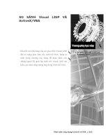 Phát triển AutoCAD bằng ActiveX & VBA - Phụ lục A pptx
