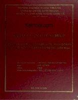 Khóa luận tốt nghiệp nghiên cứu đề xuất chiến lược kinh doanh cho công ty CP bánh kẹo biên hòa hà nội tháng 11 năm 2006
