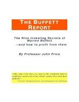 Bí mật thành công của Warrent Buffet pdf