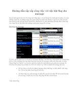 Hướng dẫn sắp xếp công việc với việc đặt flag cho message docx